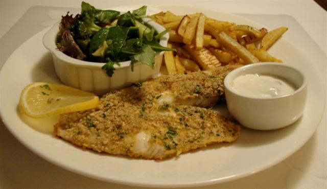 Filets de poisson dorés aux épices pour deux 11_til12