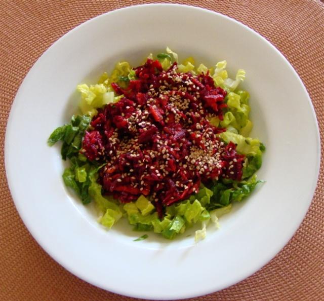 Salade de betterave et de carotte à l'orientale de Messidor 6_sala13