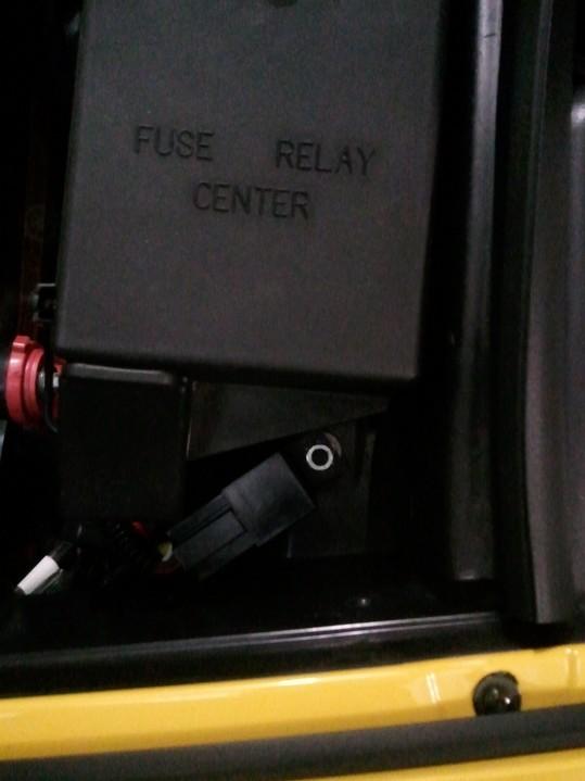 Démontage phares et montage d'un nouveau combiné xénon/LED Wp_00430