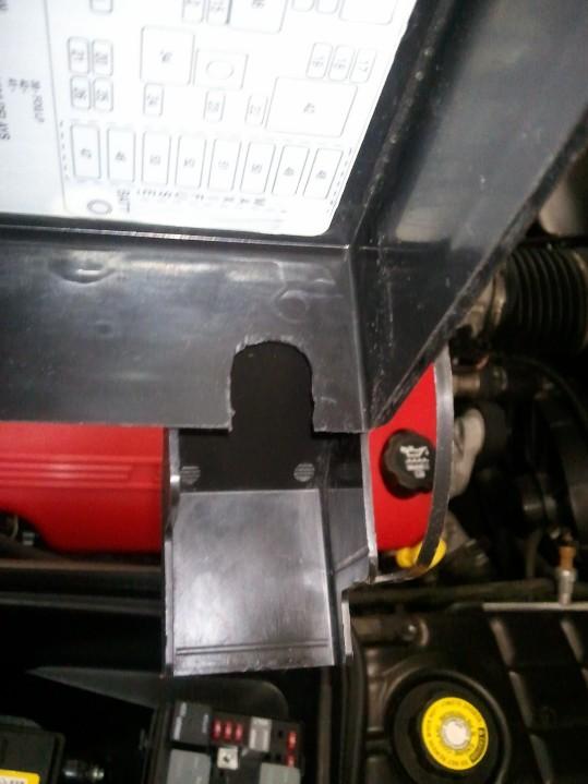 Démontage phares et montage d'un nouveau combiné xénon/LED Wp_00431