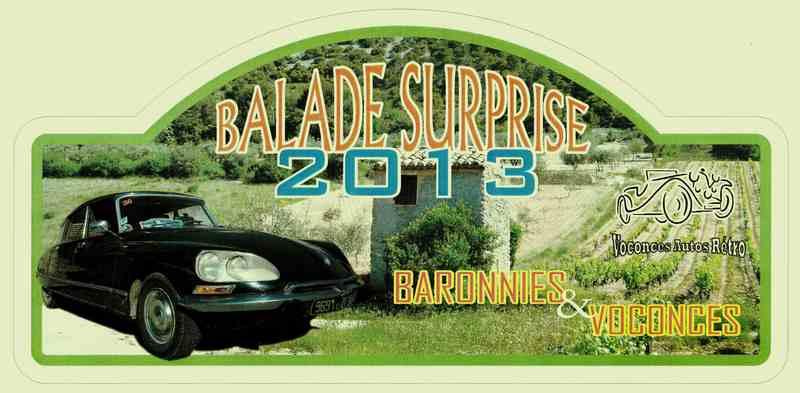 Balade surprise Plaque10