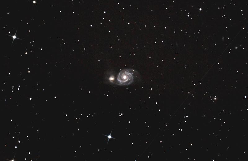 L'Astronomie M51ax10
