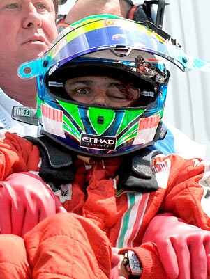 MASSA  GP  HONGRIE Massa10