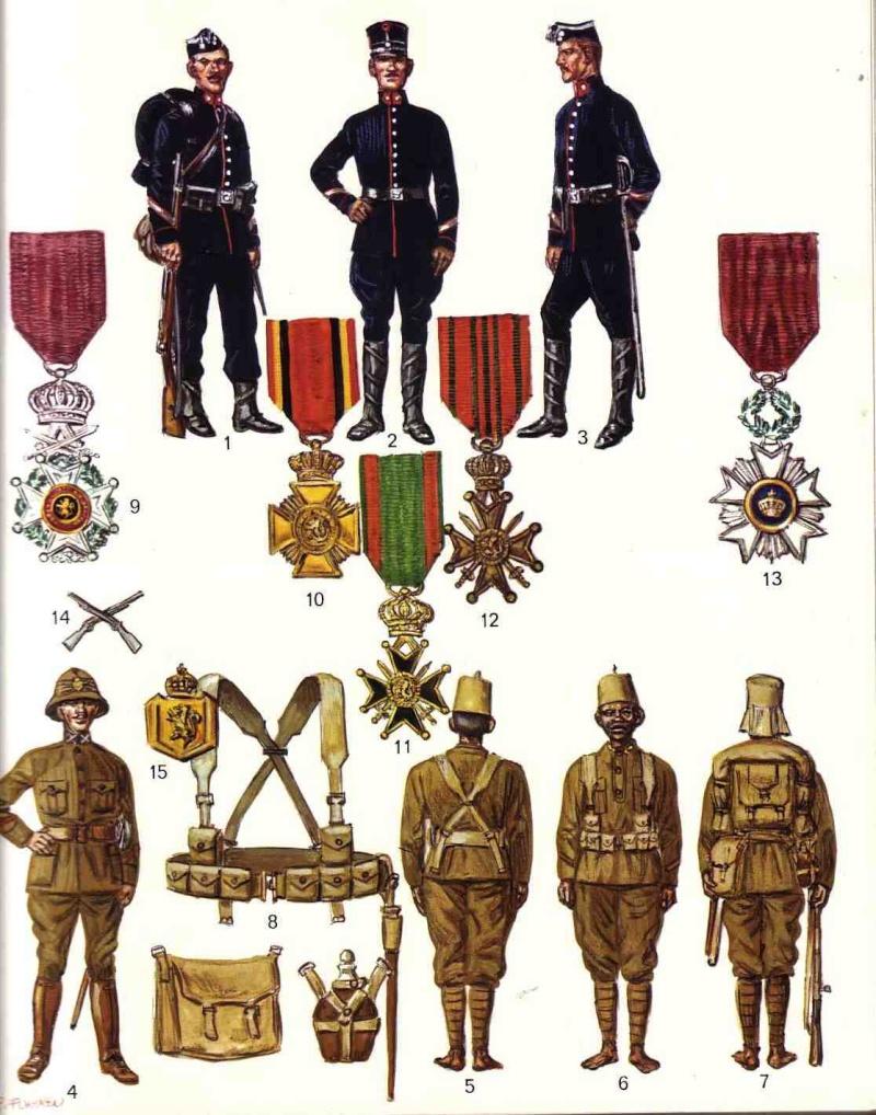 Troupes coloniales belges Infant10