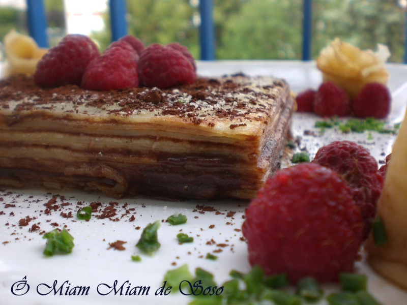 MILLE CRêPES FRAMBOISE & CHOCOLAT - Page 2 Mille_10