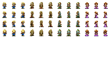 Character + battler Bahamut lagoon 00111