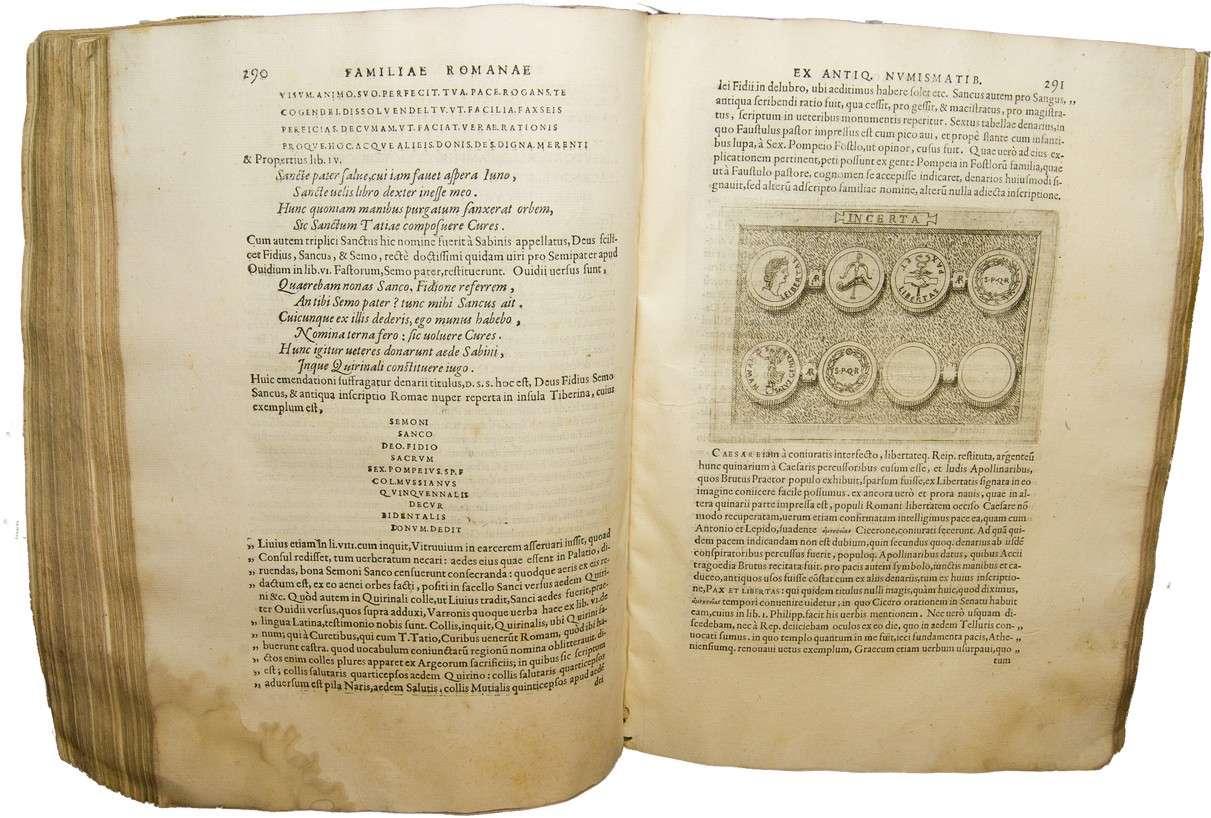 Libro de numismática de Fulvio Orsini año 1577. En Ibercoin. 118