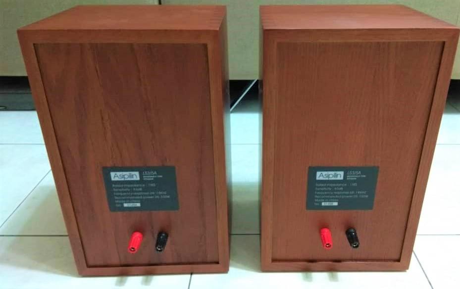 Asipilin LS3/5a Bookshelf Monitor Solid European Oak (Used) Asipil18