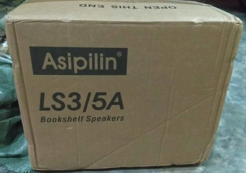 Asipilin LS3/5a Bookshelf Monitor Solid European Oak (Used) Asipil20