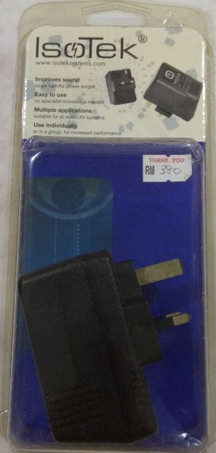 Isotek Neoplug UK Socket with original packing(Used) sold Neoplu13
