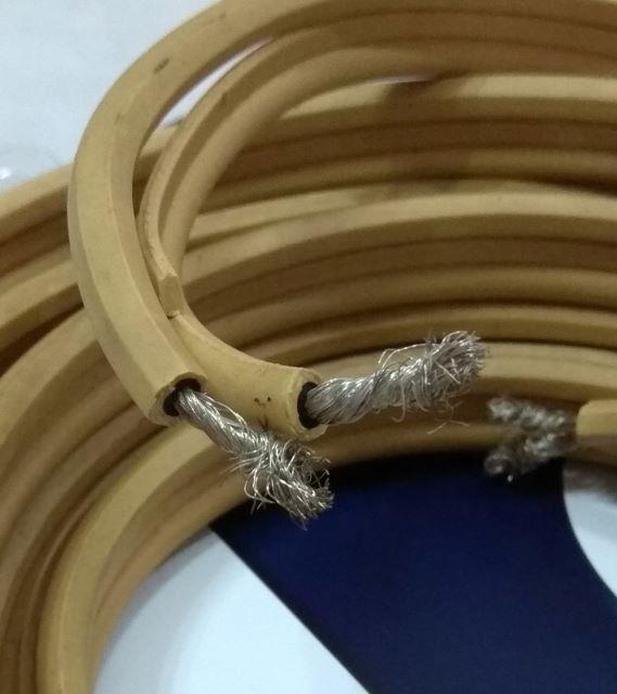 Van Den Hul CS122 Hybrid Speaker Cable 2.3meter pair (Used) Vdhcs111