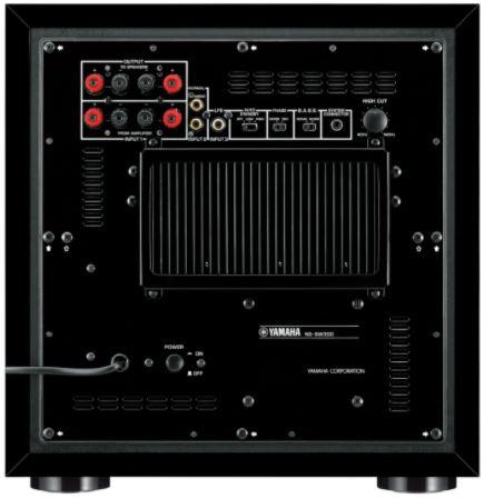 Yamaha NS-SW300 Active SubWoofer Black (Used) Yamaha11