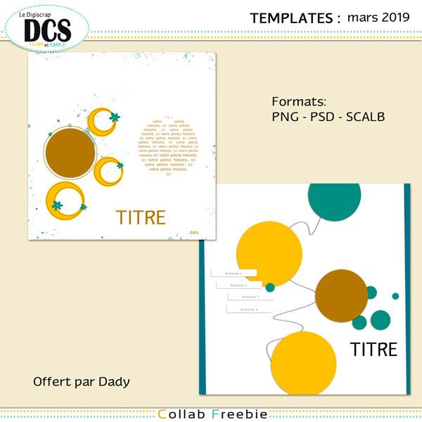 12 templates : Des CercleS !