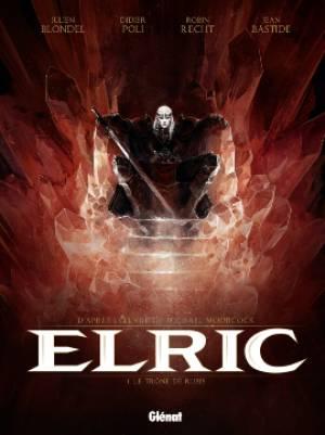 Elric - Tome 1: Le Trône de rubis [Blondel, Julien & Poli, Didier & Recht, Robin & Bastide, Jean] Cvt_el10