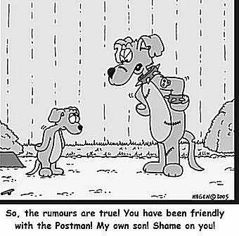 Dog Cartoons Aggres10