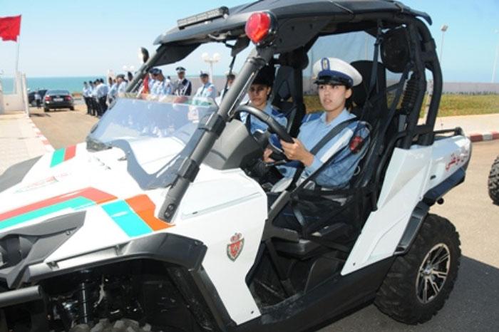 الأمن الوطني يعزز عناصره ب 30 سيارة للتدخل رباعية الدفع  Police12