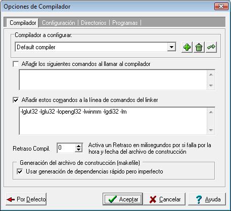Entorno OpenGL en Windows 610