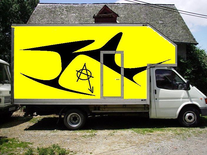 """[Mk5] Mon Transit Caisse 20m3  """" le big foot """" Projet10"""
