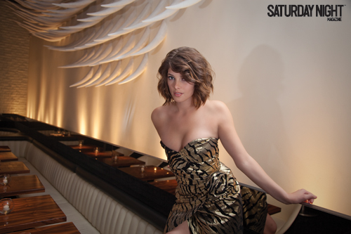 Saturday Night Magazine (On set) Ashle106