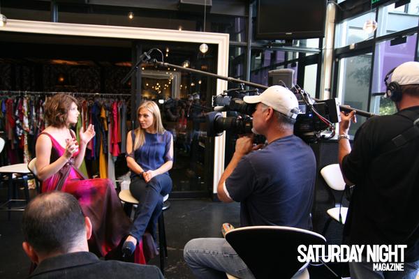 Saturday Night Magazine (On set) Ashley44
