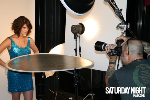 Saturday Night Magazine (On set) Ashley46