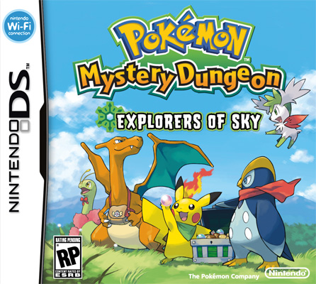 Pokemon Mystery Dungeon Explorers of the Sky Pokemo10