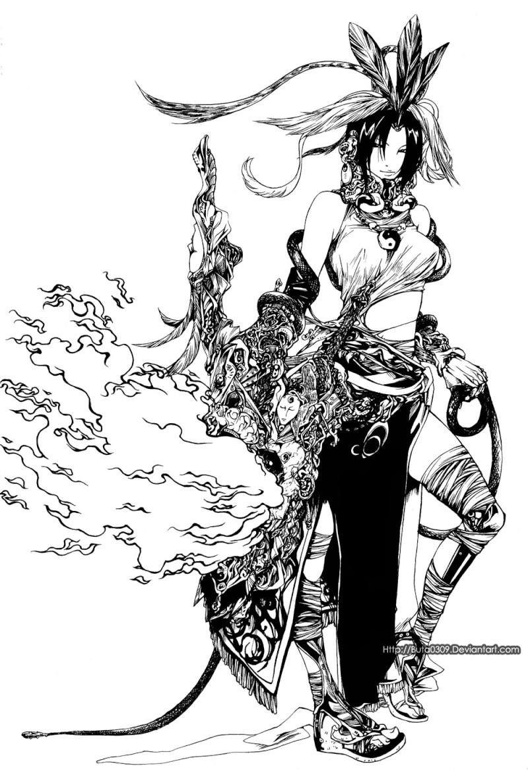 Manga/ Anime: Featured Artist Ba_tri10