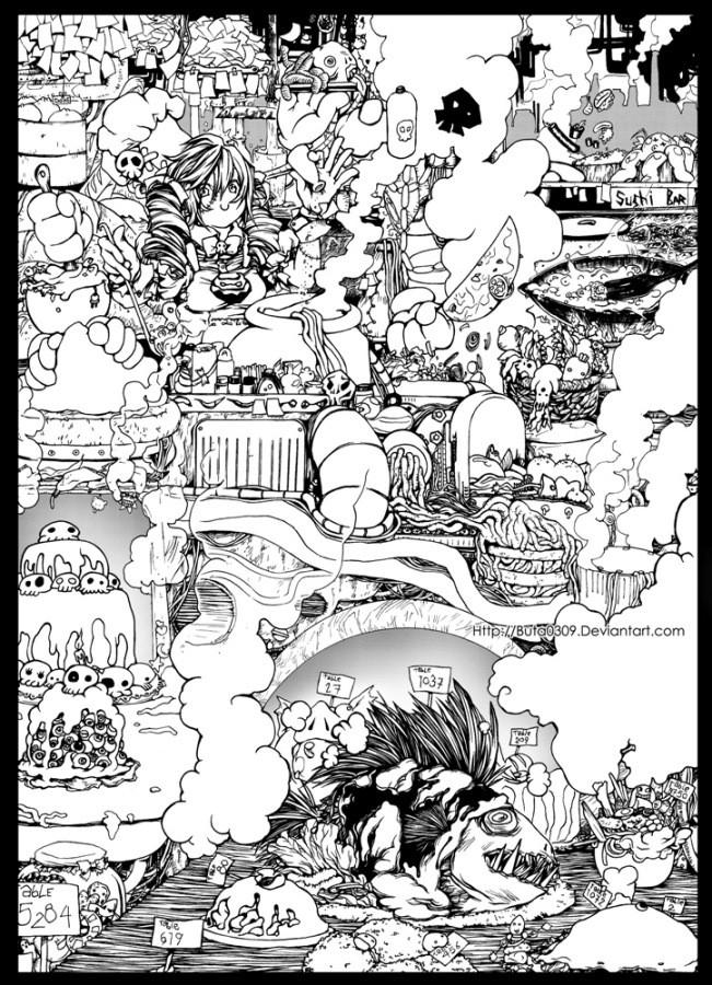 Manga/ Anime: Featured Artist The_re10