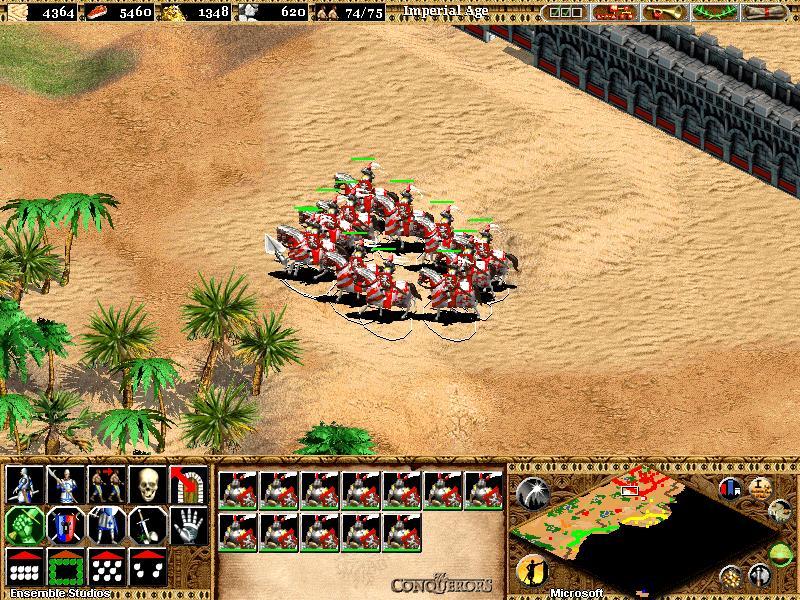 أنفراد الاصدار الذهبى من أقوى الالعاب الاستراتيجيه Age Of Empire 2+شفرات اللعبة+مدبجله بالمصريه+شرح العبه Md1uvr10