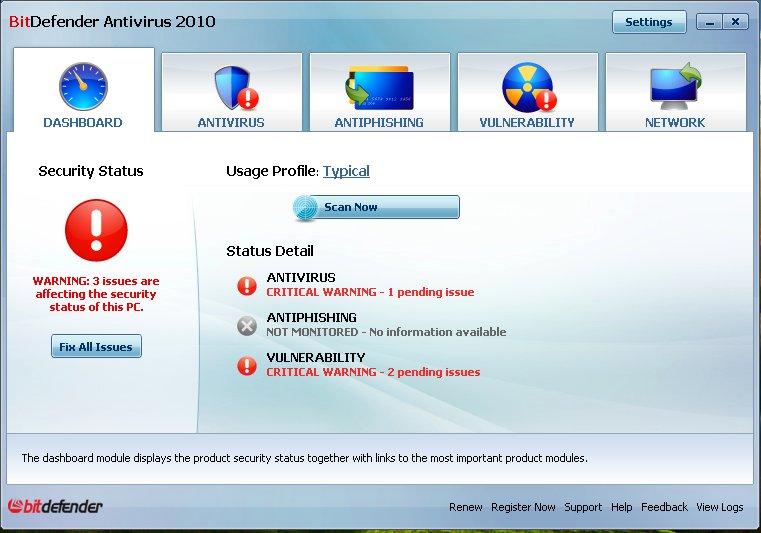 حصريا عملاق الحماية BitDefender 2010 Build 13.0.15.297 لحماية قوية ورادعة فى نسختيه AntiVirus و Internet Security T5j50j10