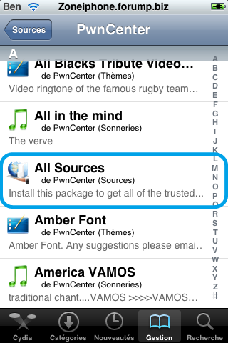 [TUTO] Installer le Package '' AllSources '' Sur Cydia ! Img_0045