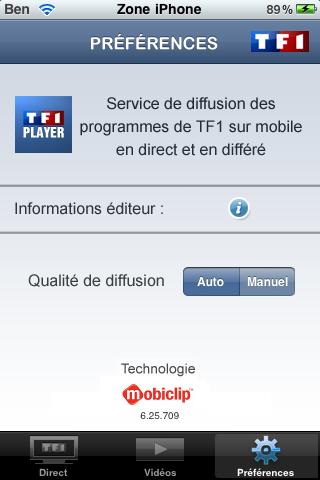 [APP] TF1 player, le voilà ! Img_0069