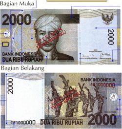 Uang Kertas Pecahan Rp2.000 Diluncurkan Hmzpcu10