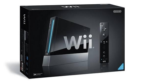 Black Nintendo Wii 21126510