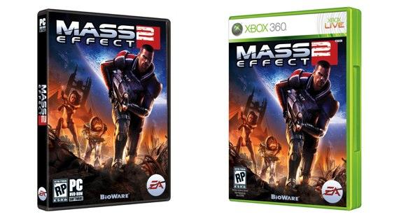 Mass Effect 2 cover revealed Massef10