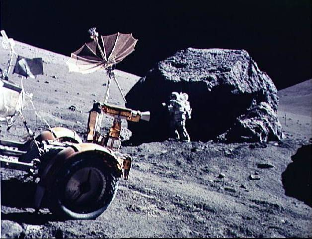 Apollo 17 par LRO Statio11