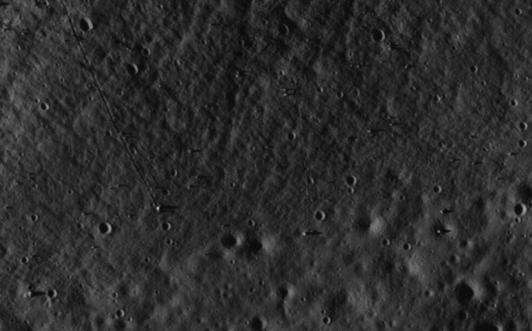 Apollo 17 par LRO Statio13