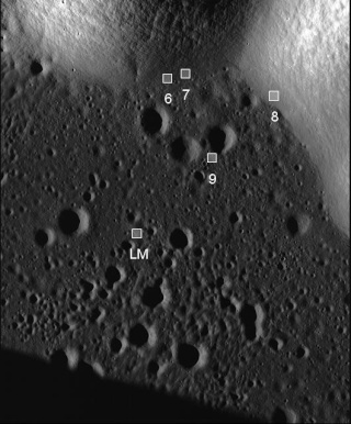 Apollo 17 par LRO Tifpet10