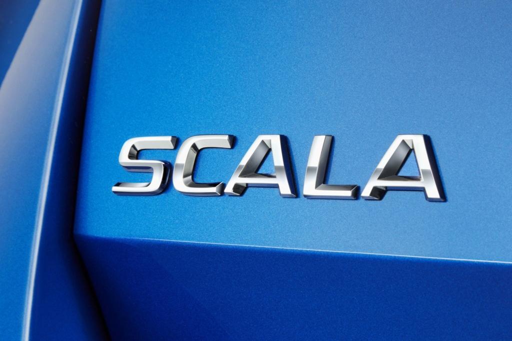 2019 Škoda Scala (Rapid/Spaceback II) 3