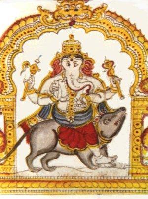 Comment le taureau blanc se mit à parler. - Page 19 Ganesh10