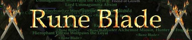 Rune Blade Est. 04/Jan/2006