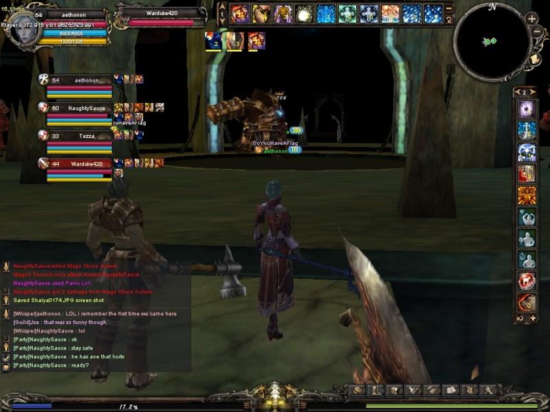 1st semi-guild event Shaiya11