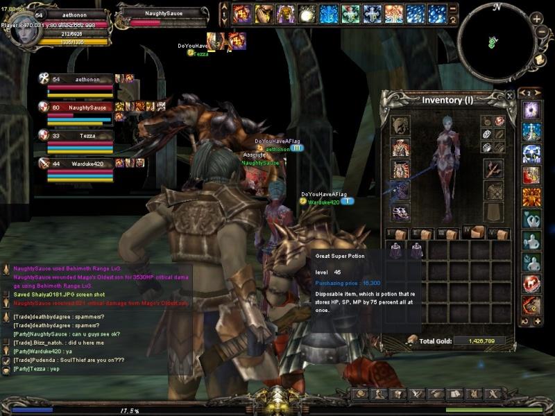 1st semi-guild event Shaiya12