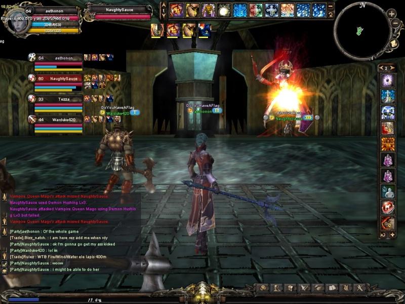1st semi-guild event Shaiya13