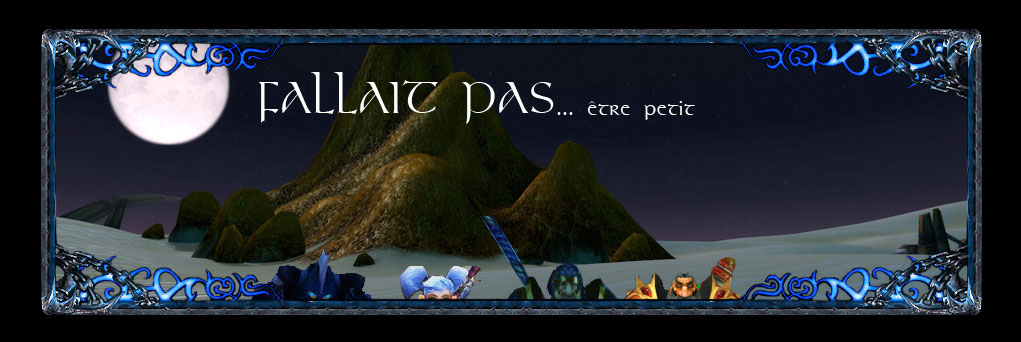Guilde World of Warcraft : Fallait Pas