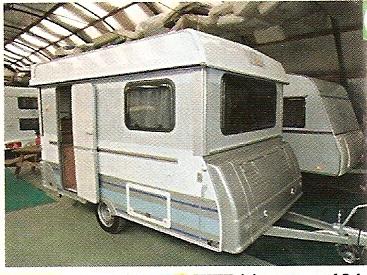 caravane rigipliante neuve Numari10