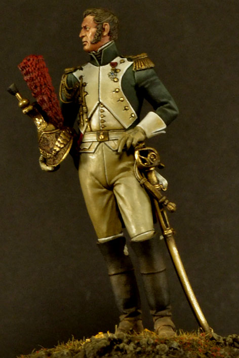 Officer,Empress Dragoons _csc1812