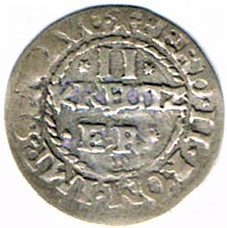 II kreutzer 1631, municipalité de Wissembourg Ccf28021