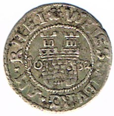 II kreutzer 1632, municipalité de Wissembourg Ccf28022