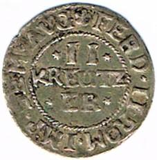 II kreutzer 1632, municipalité de Wissembourg Ccf28023